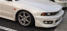 レグナム三菱自動車(純正) ランエボ8純正エンケイホイールの全体画像
