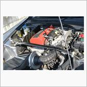CUSCO オーバルシャフト アルカーボンストラットバー Type ALCOS