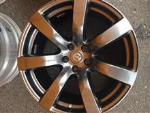 フーガハイブリッド日産(純正) GT-R R35用ホイールの単体画像
