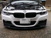 アクティブハイブリッド 3メーカー・ブランド不明 BMW 3シリーズ F30 F31 M3ルックフロントグリル つや有ブラックの単体画像