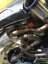 TT ロードスターmotor synchro オリジナルマフラーの単体画像