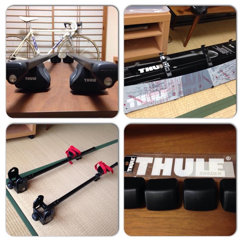 THULE ベースTH755 フェアリング872XT サイクルキャリアTH530(旧)