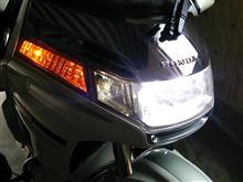 ゴールドウイング(GL1500SE)N's アーリアネット Hi/Lo切り替え型 LEDヘッドライト 2000LM の全体画像