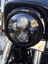 ストリートグライドHarley-Davidson 純正LEDヘッドライトの単体画像