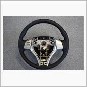 Leather Custom FIRST T32エクストレイル用純正ステアリングカスタム