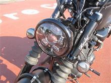 XL883Nハーレーダビッドソン(純正) Daymaker LEDヘッドライト グロスブラックの単体画像