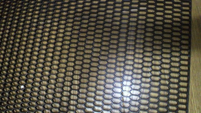 不明 ABS製樹脂 ユーロハニカムグリル グリルネット ハニカムメッシュ ブラック 六角