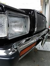 クラウンハードトップトヨタ純正 フロントバンパーの全体画像