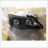 KKMaster CCFLイカリング ダブルプロジェクターヘッドライト