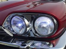 XJ-S コンバーチブル北米ジャガー純正 4灯コンバージョンキットの全体画像