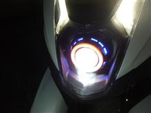 トリシティメーカー・ブランド不明 BI-XENON プロジェクターレンズ の全体画像