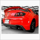 RE雨宮 RX8 Befor REAR LED TAIL LAMP FINISHER GF
