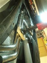 フロンティア藤森自動車 オリジナルワンオフマフラーの全体画像