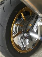 マジェスティS台湾 宇川 武川車料工業股份有限公司製 軽量 リヤ ホイール type-X9の単体画像