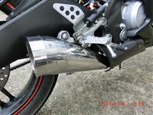 YZF-R125SP忠男(スペシャルパーツ忠男) PURE SPORT(ピュアスポーツマフラー)の単体画像