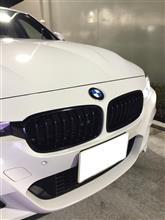 アクティブハイブリッド 3BMW(純正) BMW Performance ブラックキドニーグリルの単体画像