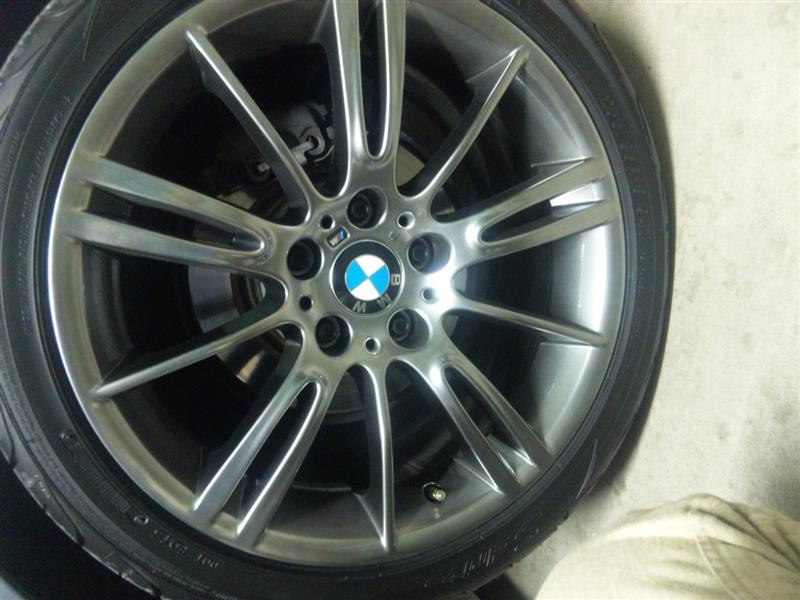 BMW純正 MスタースポークS193 ハイパーブラック 18インチ 8J
