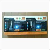 AutoSite 80系 ヴォクシーCREE LEDハイビーム&フォグセット/LEDA LA02 HB3+H16