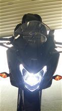 CBR650Fサインハウス LED RIBBON ヘッドライトバルブ H4型の単体画像