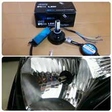 ダンクsk auto trading 無極性4面発光26W/2600LM LEDヘッドライトHI/LOW PH7/8/H4/H4R1の単体画像