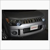 オールカープロダクツ デリカD:5 オリジナルカスタムペイント&イカリングヘッドライト