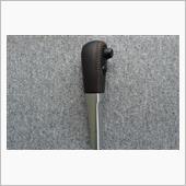 Leather Custom FIRST E11ノート用純正ATノブベースカスタム