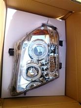 フロンティアSpec-D Tuning Halo Led Projector Headlightsの単体画像