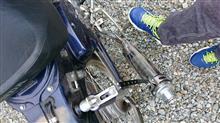 スーパーカブ50デラックスヒロチー商事 ストレートベーシックスタイルダウンマフラー モンキー用の単体画像
