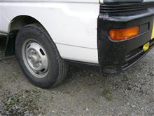 ミニキャブトラック三菱自動車(純正) 後期型バンパーサイドガーニッシュの全体画像