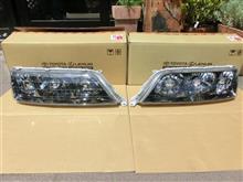 マークIIトヨタ純正 ヘッドランプユニットASSYの単体画像