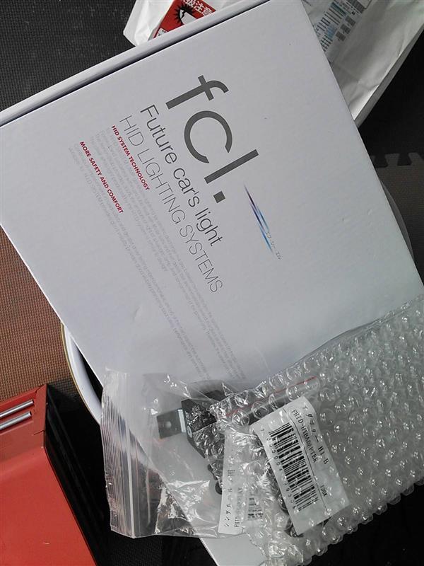 fcl 35W HIDコンバージョンキット H1 6000K