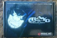 KDX200SRRAYD LEDヘッドライトバルブの単体画像