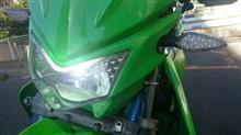 KDX200SRRAYD LEDヘッドライトバルブの全体画像