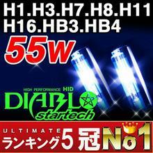 FAZER 8 (フェザー)BigKmartJapan DIABL startech 55w H7 HIDキットの単体画像