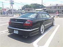 プレジデントJUNCTION PRODUCE Sedan line TRUNK SPOILERの全体画像