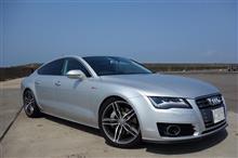 A7 スポーツバックAudi純正(アウディ) Audi S7 加工純正ホイールの全体画像