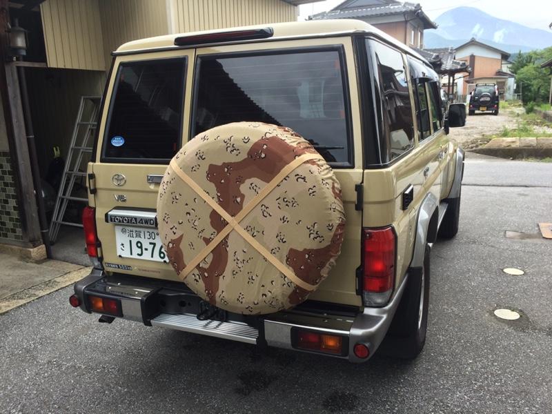 u s army desert camo spair tire cover のパーツレビュー