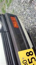 ミニキャブトラック純正品(中古品) 三菱ミニキャブU10V系ブラボー専用フロントバンパーASSY(660cc車用)の単体画像