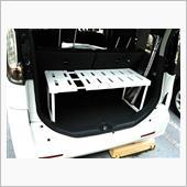 IRIS / アイリスオーヤマ 伸縮押し入れ整理棚 SOR-370 グレー