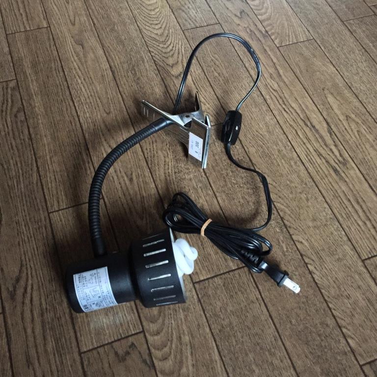 OHM / オーム電機 クリップライトOCL-40B