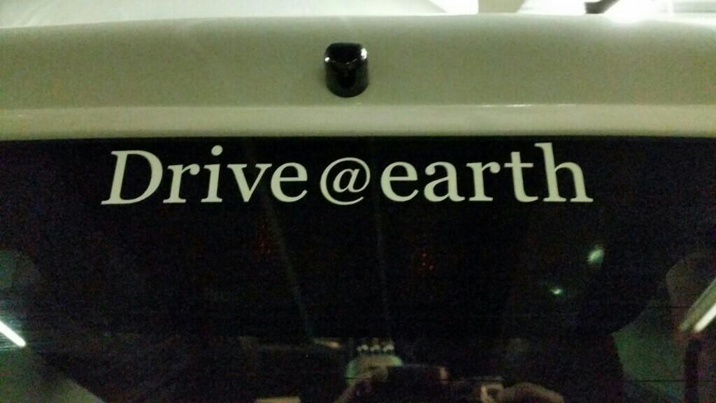 三菱 Drive@earth ステッカー