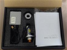 ビーウィズ125Xクロライト H4 LEDヘッドライトの単体画像