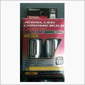 Valenti JEWEL LED CHROME BULB T20 アンバー (LC04-T20-AM)