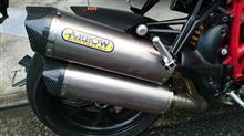 Street fighter 848ARROW Race-Tech DUAL スリップオン Ducati STREETFIGHTER848の全体画像