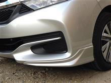 シャトルModulo / Honda Access ロアスカート フロントの全体画像