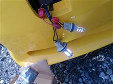 エスカルゴ日産(純正) 新品フロントウインカーレンズ+LED化の全体画像