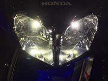 Wave125-i Helm inバイクパーツセンター LEDヘッドライト RAYDの単体画像