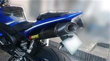 YZF-R1AKRAPOVIC スリップオンライン S-Y10SO8-DTC(サイレンサー:カーボン/エンド:カーボン)の全体画像