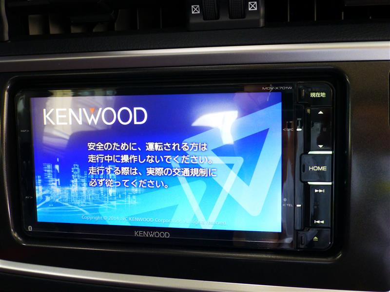 KENWOOD 彩速 MDV-X701W