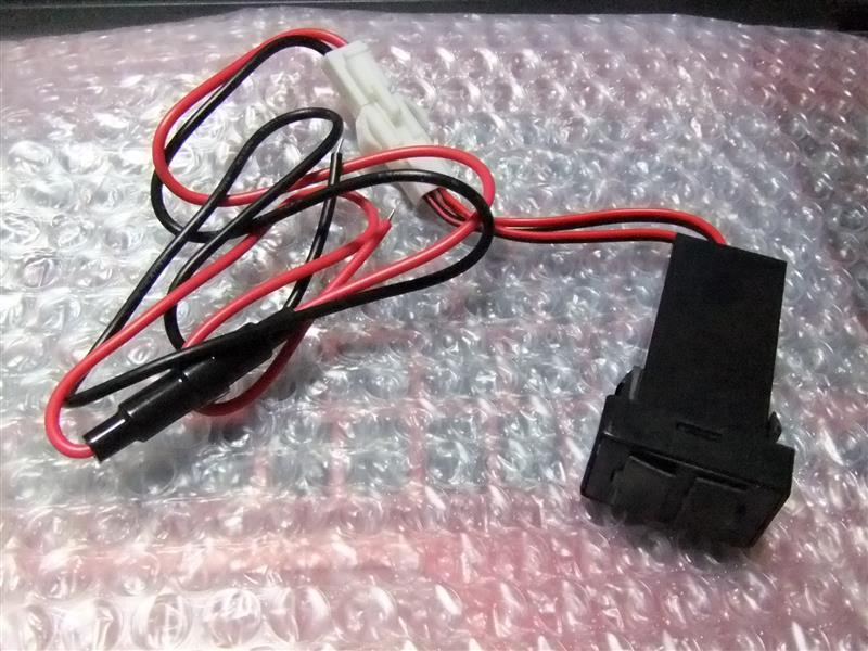 INEX ANH/GGH20系 ヴェルファイア USBポート 5V 3.1A 増設キット A